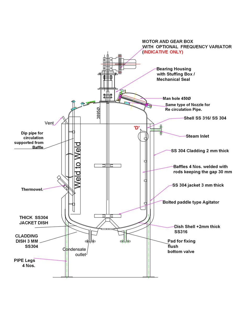 nozzle load calculation pdf tank